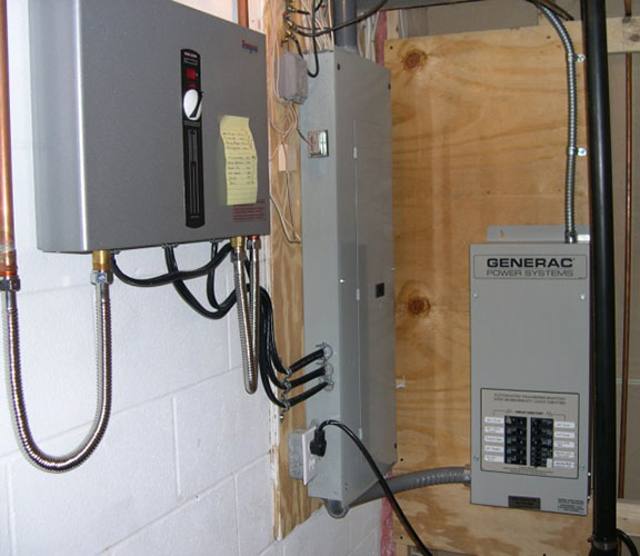 Generator Transfer Switch Installation
